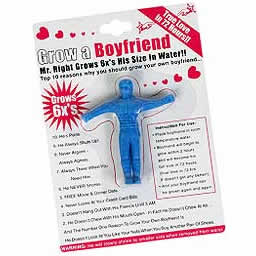 If you don't have a handsome man to snuggle up with to this Christmas, this novelty boyfriend is sure to make you feel much more secure and emotionally stable during the holiday period