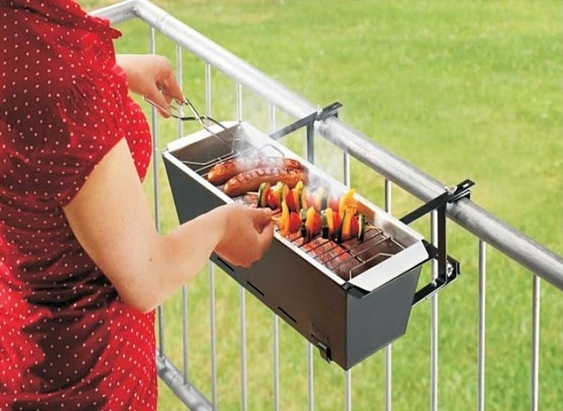 Shareagift's Gift Of The Week: The Balcony BBQ Grill