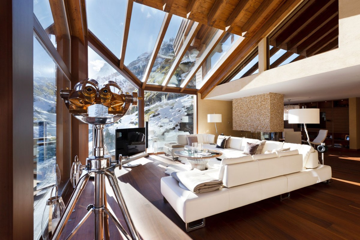 Top 5 Jaw Dropping Ski Chalets!
